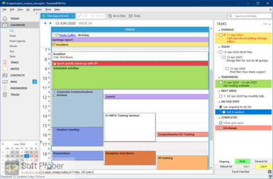 EssentialPIM Pro Business 2021 Direct Link Download-Softprober.com