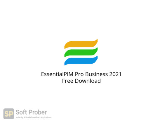 EssentialPIM Pro Business 2021 Free Download-Softprober.com