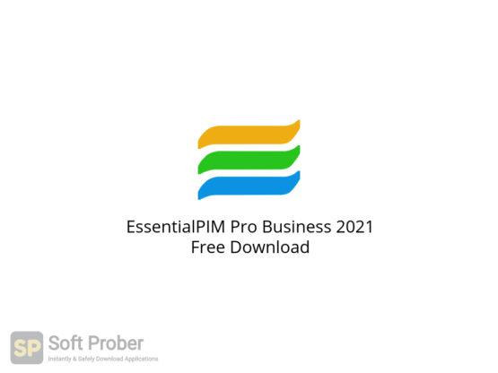 EssentialPIM Pro Business 2021 Free Download-Softprober.com