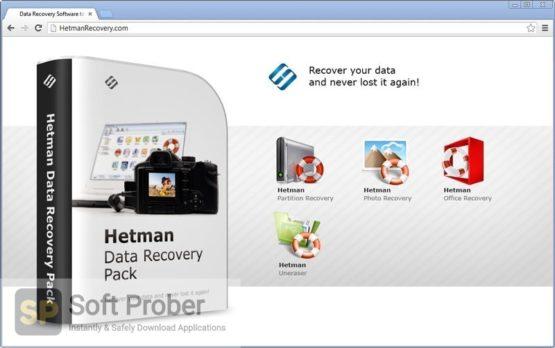 Hetman Data Recovery Pack 2021 Offline Installer Download-Softprober.com
