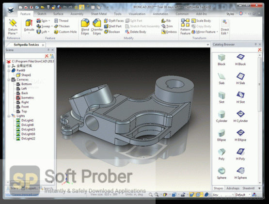 IRONCAD Design Collab Suite 2021 Latest Version Download-Softprober.com