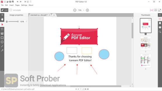 Icecream PDF Editor Pro 2021 Offline Installer Download-Softprober.com