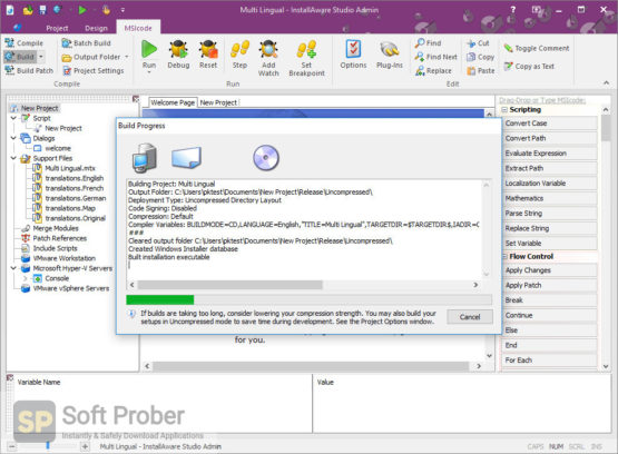 InstallAware Studio Admin X13 2021 Latest Version Download-Softprober.com
