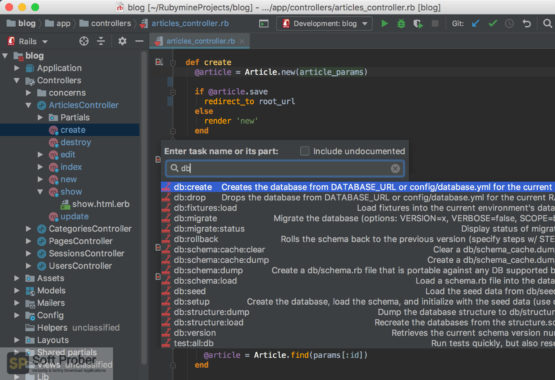 JetBrains RubyMine 2020 Direct Link Download-Softprober.com