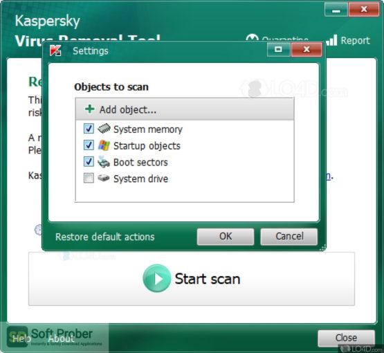 Kaspersky Virus Removal Tool 2021 Offline Installer Download-Softprober.com
