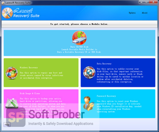 Lazesoft Recovery Suite 2021 Latest Version Download-Softprober.com