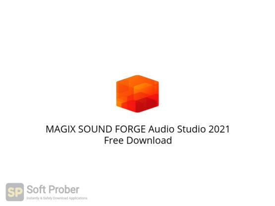 MAGIX SOUND FORGE Audio Studio 2021 Free Download-Softprober.com