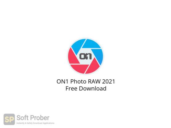 ON1 Photo RAW 2021 Free Download-Softprober.com