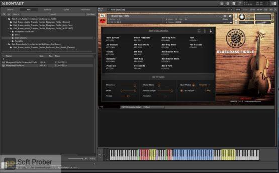 Red Room Audio Traveler Series Bluegrass Fiddle 2021 Latest Version Download-Softprober.com