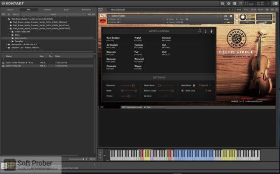 Red Room Audio Traveler Series Celtic Fiddle Offline Installer Download-Softprober.com