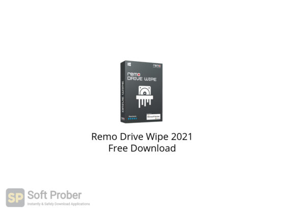Remo Drive Wipe 2021 Free Download-Softprober.com