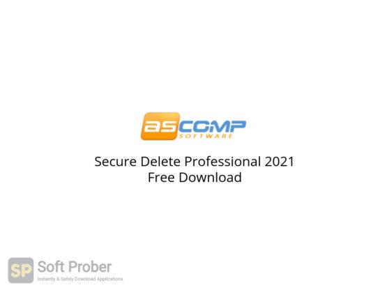 Secure Delete Professional 2021 Free Download-Softprober.com