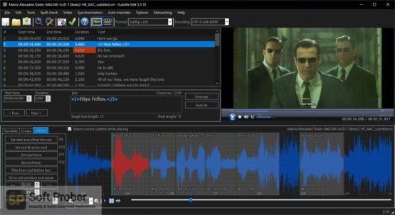 Subtitle Edit 2021 Latest Version Download-Softprober.com