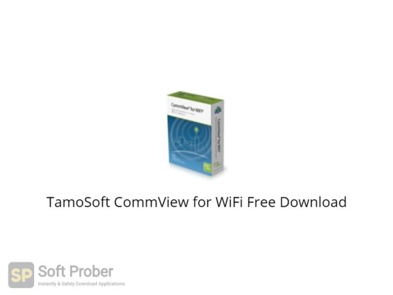 TamoSoft CommView for WiFi 2021 Free Download-Softprober.com