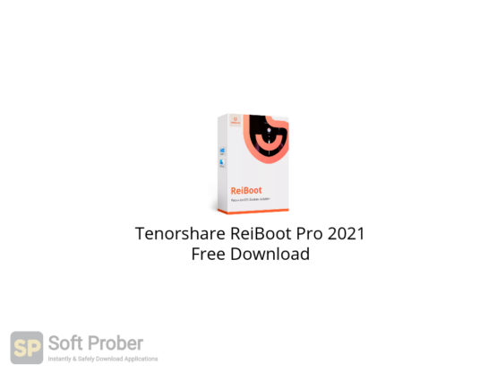 Tenorshare ReiBoot Pro 2021 Free Download-Softprober.com