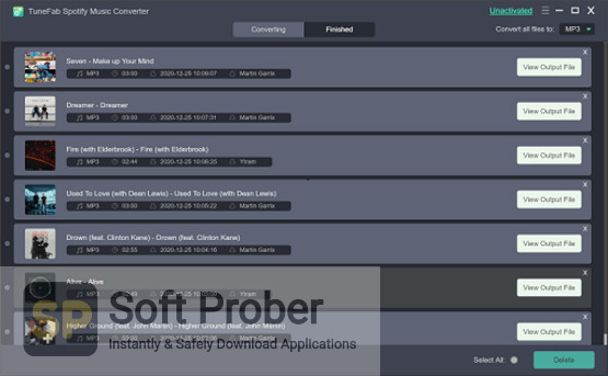 TuneFab Spotify Music Converter 2021 Direct Link Download-Softprober.com