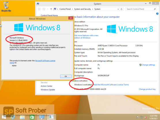 Windows 8.1 With Office 2019 January 2021 Offline Installer Download-Softprober.com