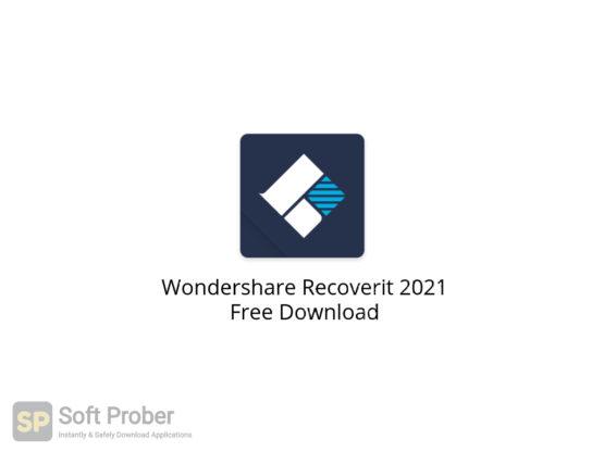 Wondershare Recoverit 2021 Free Download-Softprober.com