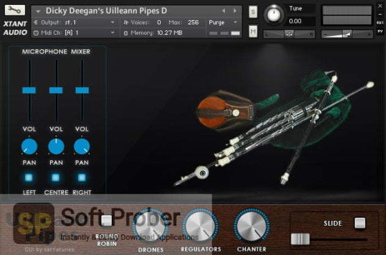 Xtant Audio Dicky Deegan's Uilleann Pipes 2021 Latest Version Download-Softprober.com