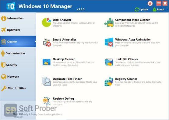 Yamicsoft Windows 10 Manager 2021 Direct Link Download-Softprober.com