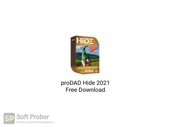 proDAD Hide 2021 Free Download-Softprober.com