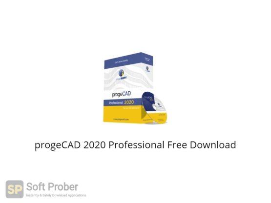 progeCAD 2020 Professional Free Download-Softprober.com