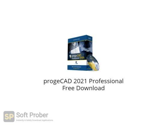 progeCAD 2021 Professional Free Download-Softprober.com