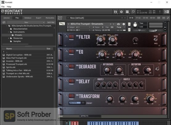 8dio Sample Aid Studio Series: Fire Trumpet Offline Installer Download-Softprober.com