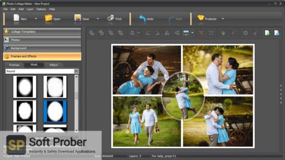 AMS Software Photo Collage Maker Pro 2021 Direct Link Download-Softprober.com