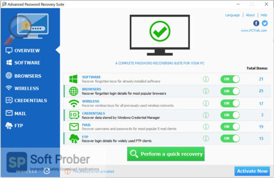 Advanced Password Recovery Suite 2021 Direct Link Download-Softprober.com
