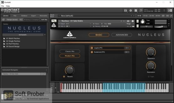 Audio Imperia Nucleus 2021 Offline Installer Download-Softprober.com