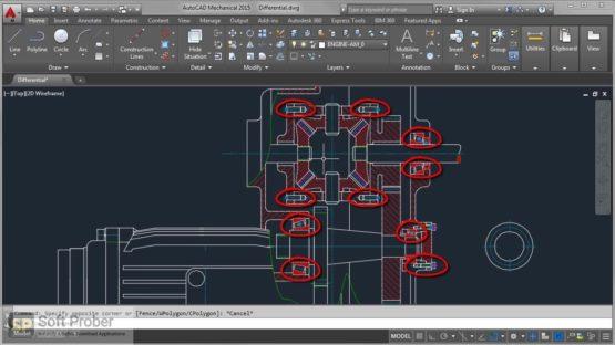 Autodesk AutoCAD Mechanical 2022 Offline Installer Download-Softprober.com
