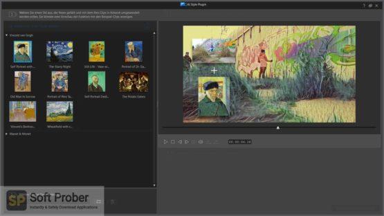 CyberLink Van Gogh AI Style Pack Offline Installer Download-Softprober.com