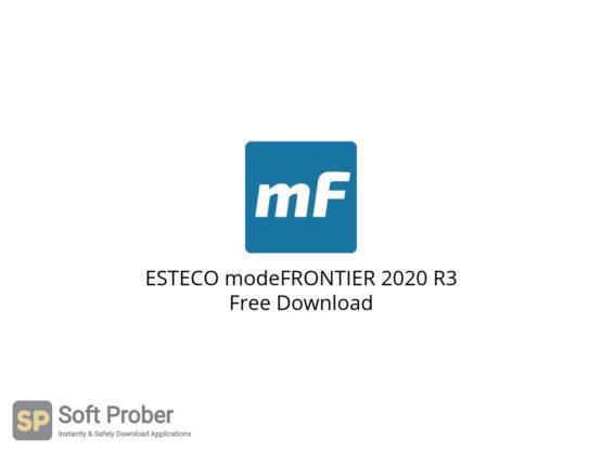 ESTECO modeFRONTIER 2020 R3 Free Download-Softprober.com
