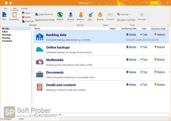 FBackup 9 2021 Direct Link Download-Softprober.com