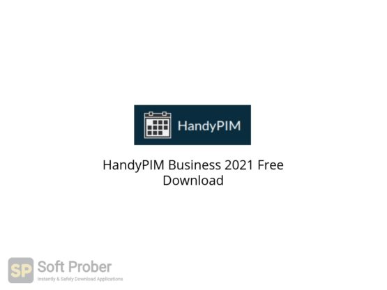HandyPIM Business 2021 Free Download-Softprober.com