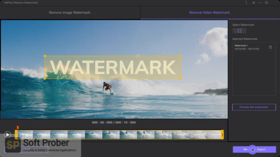 HitPaw Watermark Remover 2021 Direct Link Download-Softprober.com