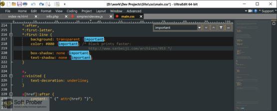 IDM UltraEdit 2021 Latest Version Download-Softprober.com