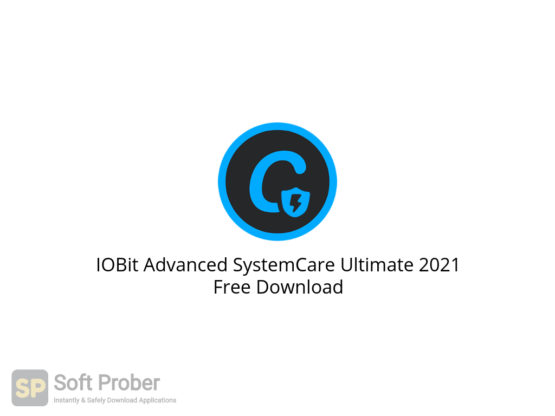 IOBit Advanced SystemCare Ultimate 2021 Free Download-Softprober.com
