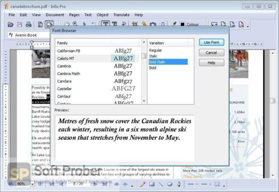 InfixPro PDF Editor 2021 Offline Installer Download-Softprober.com
