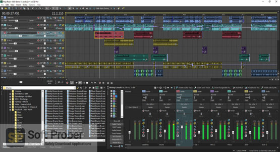 MAGIX ACID Pro Suite 2021 Latest Version Download-Softprober.com