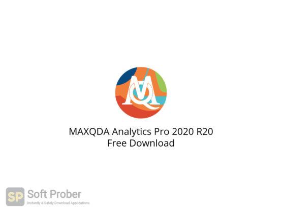 MAXQDA Analytics Pro 2020 R20 Free Download-Softprober.com