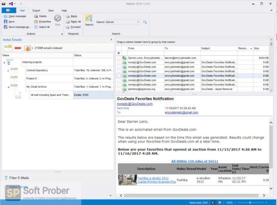 MailDex 2021 Direct Link Download-Softprober.com