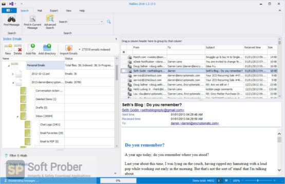 MailDex 2021 Latest Version Download-Softprober.com