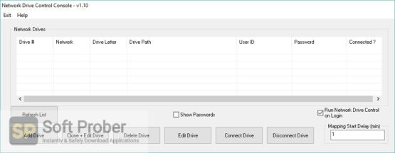 Network Drive Control 2021 Latest Version Download-Softprober.com