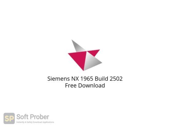 Siemens NX 1965 Build 2502 Free Download-Softprober.com