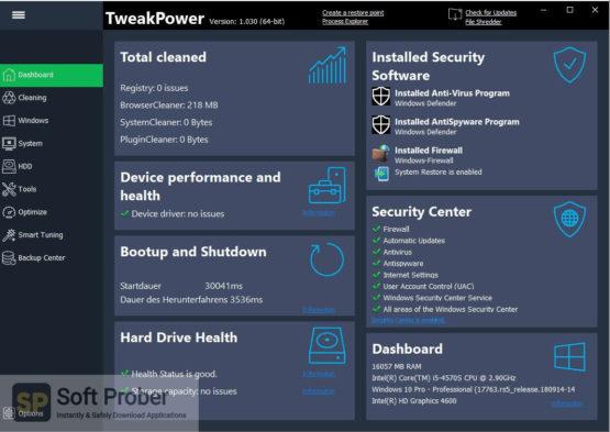 TweakPower 2021 Direct Link Download-Softprober.com