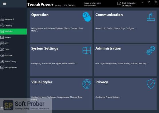 TweakPower 2021 Latest Version Download-Softprober.com