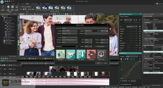 VSDC Video Editor Pro 2021 Direct Link Download-Softprober.com