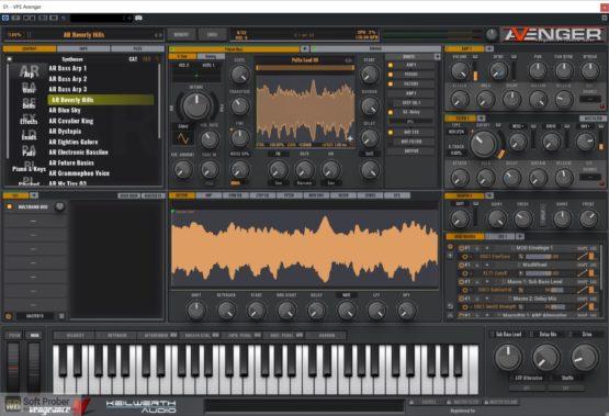 Vengeance Sound Avenger Expansion pack: Synthwave Offline Installer Download-Softprober.com